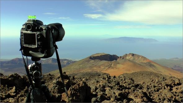 Auf dem Pico del Teide mit Nikon D800E
