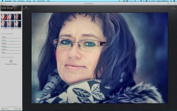 Bildbearbeitung mit NIK Snapseed