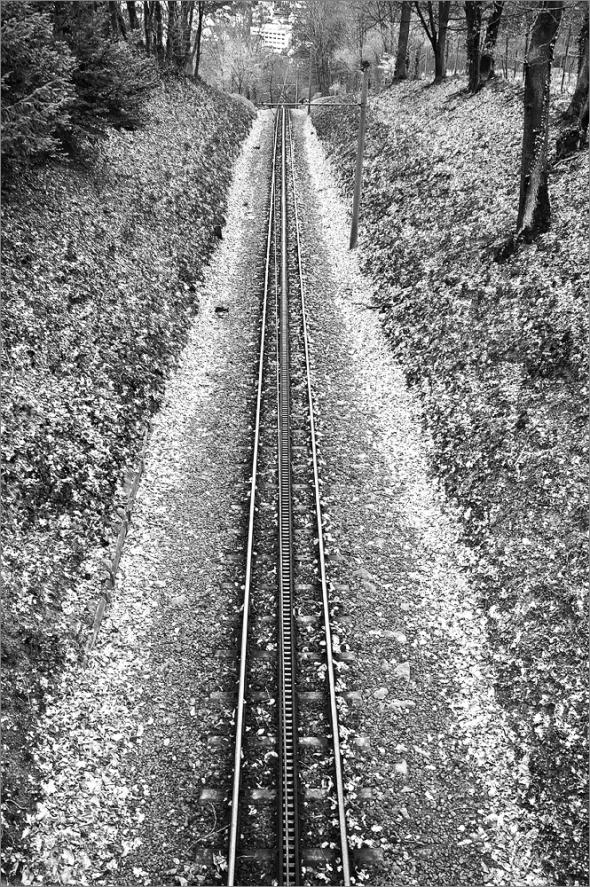Zahnradbahn am Drachenfels - Fuji X100