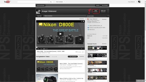 800 Abos - Abonnenten - YouTube - anscharius.net - ancharius