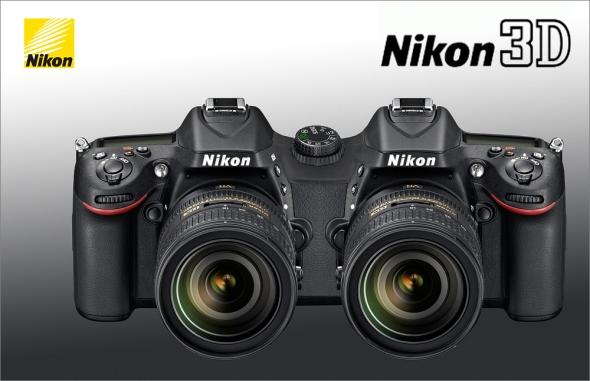 Nikon D7100 - 3D