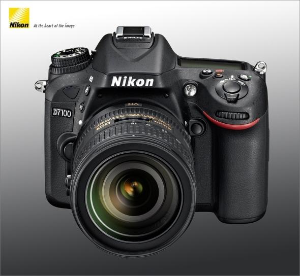 Nikon D7100 Left - Front - Top
