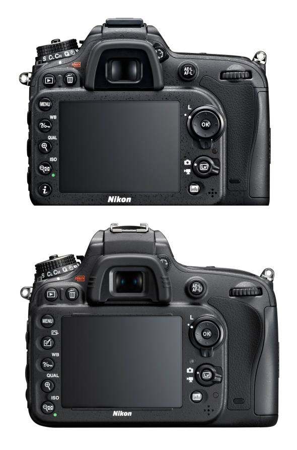 Nikon D7100 versus D600