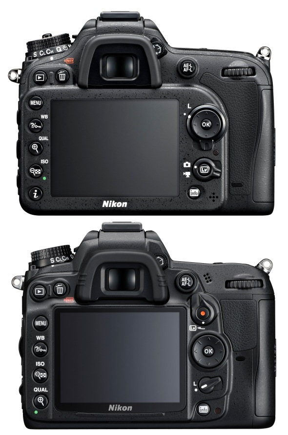 Nikon D7100 versus D7000