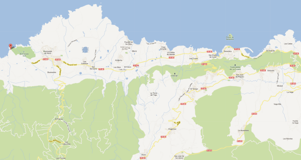 El Burgado - Buenavista del Norte - Tenerife - Teneriffa