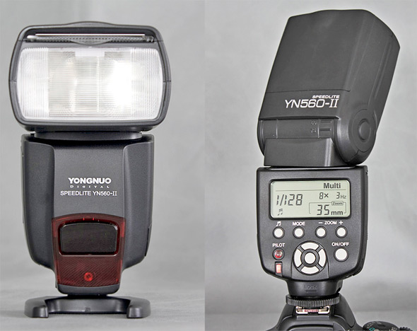 YONGNUO YN560 II Flashlight