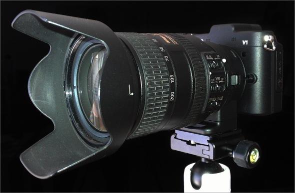 Nikon 1 V1 - FT-1 - Nikkor AF-S VR 18-200mm