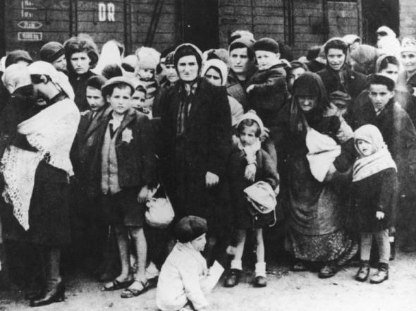 KZ Auschwitz, Ankunft ungarischer Juden