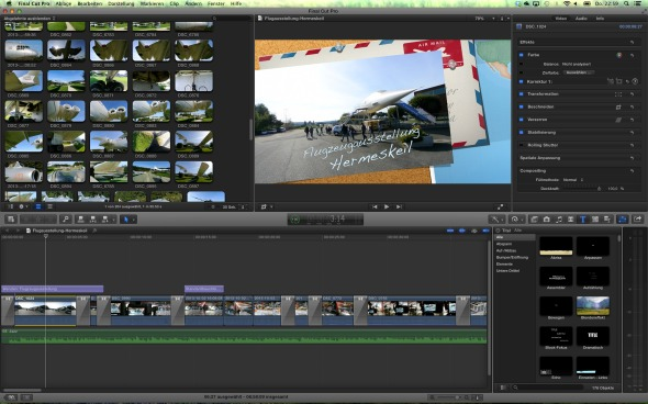 Final Cut Pro X - Retina Display