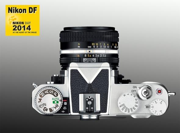Nikon DF - Silver - Top - Prototype