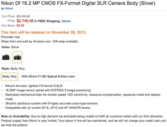 Nikon-Df-camera-price