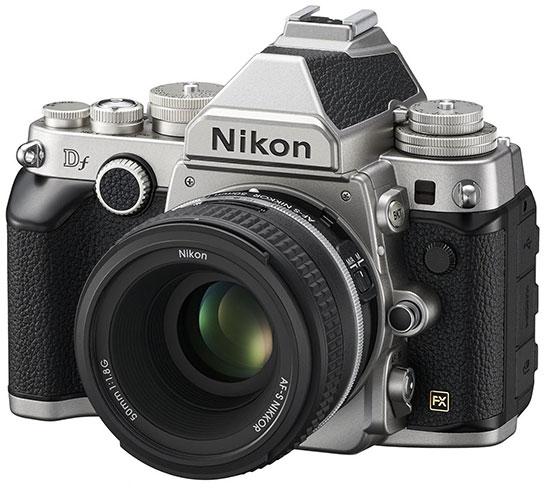 Nikon-Df-kit-silver
