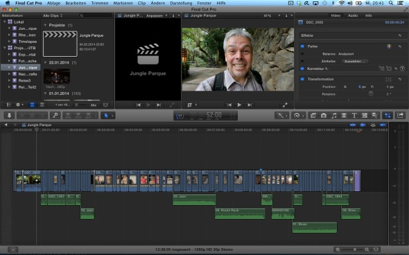 Final Cut Pro X - Jungle Park