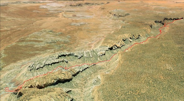 Burr-Trail-Utah