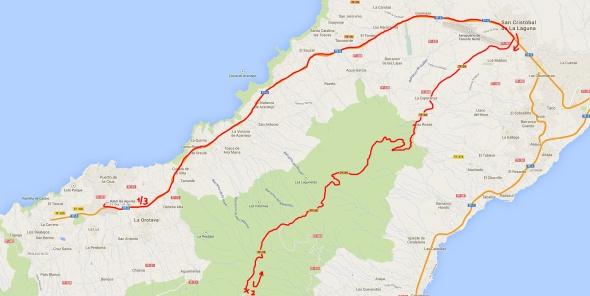 Anfahrt-Teide-La-Esperanza