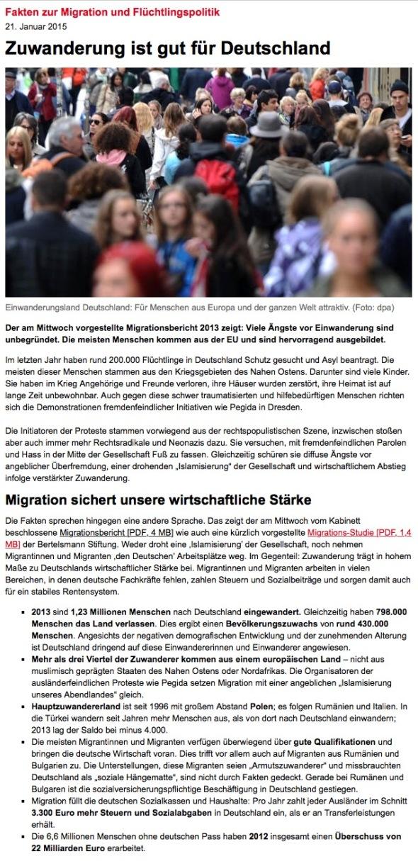 Zuwanderung-SPD