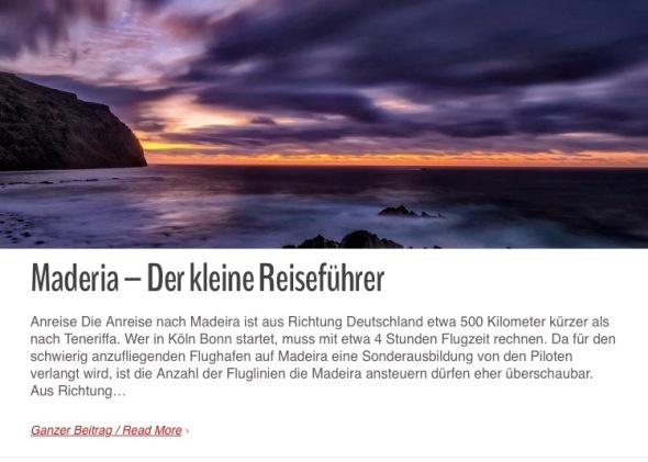 Madeira-Kleiner-Reisefuehrer