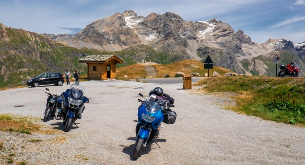 Val d'Isère, 100 Days of Freedom, BMW K1200r Sport, Route des grandes Alpes, Route de grand alps
