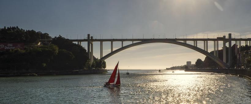 Porto, 100 Days of Freedom, anscharius, Ansgar, Motorrad, Motorradreise, Portugal