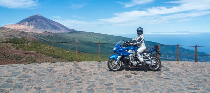 100 Days of Freedom, Motorrad, Abenteuer, BMW, K1200, Motorradreise, Teneriffa, Kanaren, Pico del Teide