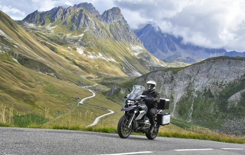 Ansgar Hillebrand Motorrad Reise BMW R 1200 GS Route des Grandes Alpes