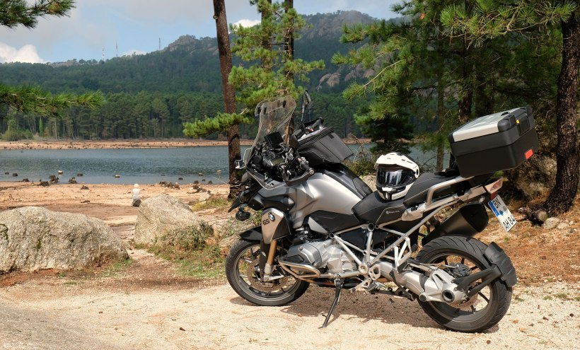 Korsika Reise Motorrad BMW R1200 GS