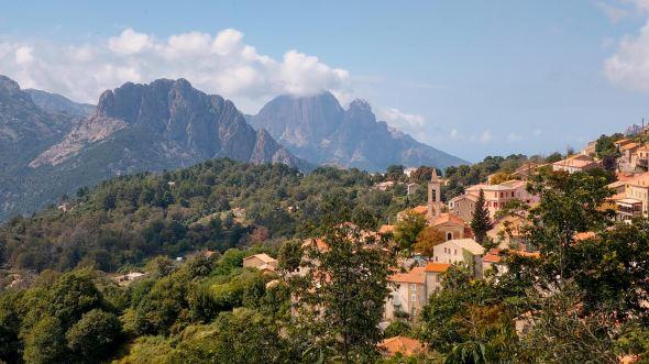 Korsika Evisa