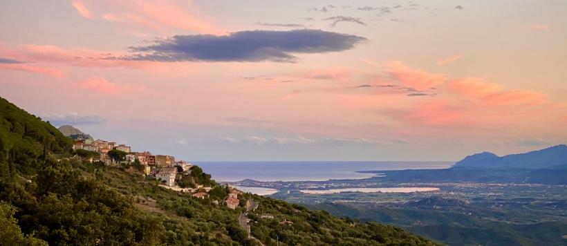 Sardinien Baunei Sunset